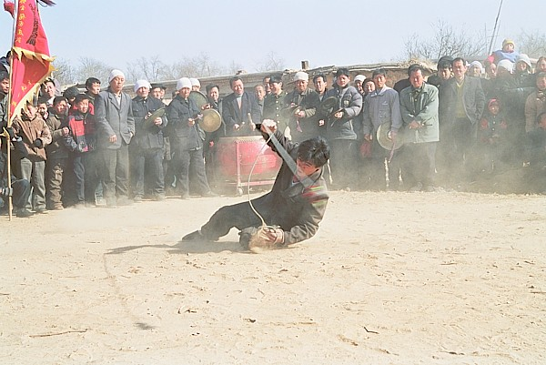 Weapons demonstration in Hebei province